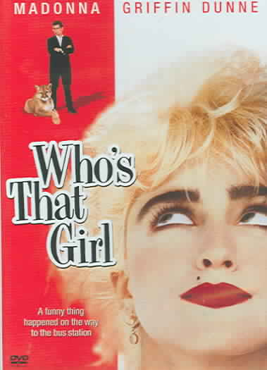 WHO'S THAT GIRL BY MADONNA (DVD)